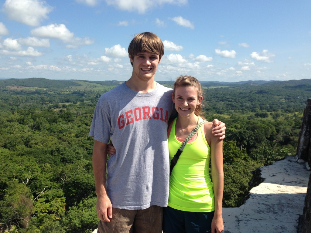 Us at the top. Please note, guardrails are not a thing in Belize